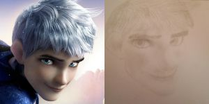 Jack Frost Drawing Attempt by oOYour-ImaginationOo