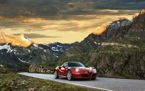 2014 Alfa Romeo 4C by ThexRealxBanks