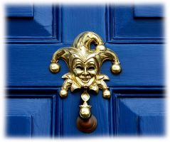 jester door by awjay
