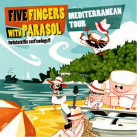 5 Fingers Mediterranean Tour by zarzo