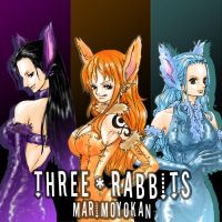 THREE RABBITS by Paula-Ane