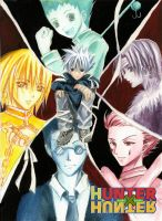 The Boys of Hunter X Hunter by nanami-yuki