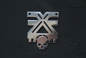 Warhammer40k The Mark of Khorne pendant by Snoopyc