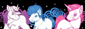 Planet Unicorn, heeyy... by blacktigerfox