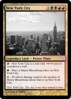 New York Magic: The Gathering by SeanMallonWriting