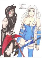 Testament x oc Luna Armstong by demonjester55