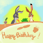 Hoppy Birthday by Chibiscuit-of-Efrafa