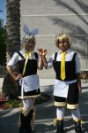 vocaloids - yuki + aki by BertLePhoto