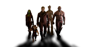 Marvel's GUARDIANS OF THE GALAXY - Team PNG by MrSteiners