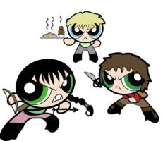 Hunger games's powerpuff boys by Ishiyaki