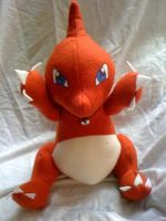 Charmeleon plush by LRK-Creations