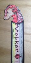 Volker Bookmark by MelodyoftheNightFury