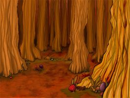 Kiddy Cute Forest by slither-astray