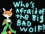Fauna Fox: Who's Afraid of the Big Bad Wolf? by CrawfordJenny