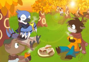 Awesome picnic by ColorsAreAwesome