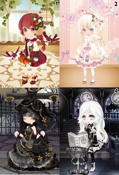 (CLOSED) Free Selfy Adopts! [Batch 14] by AndIShatter