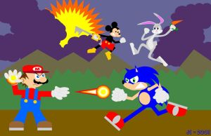Battle of the Icons by simpleCOMICS