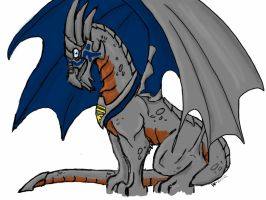 Garrus Dragon by LittleNeliel