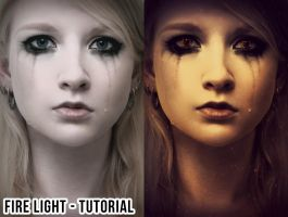 Fire light tutorial by LB-digital