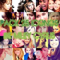25 Icons of Miley Cyrus by CantBeTamedMC