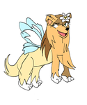 Breeza the fairy-dog by Aso-Designer