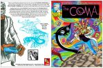 THE COMA front back covers by javierhernandez