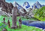 Durin's Stone by neral85