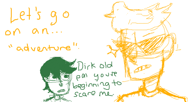 this is what i think of dirkjake by Silverpool3