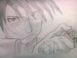 Roy Mustang by Yami0323
