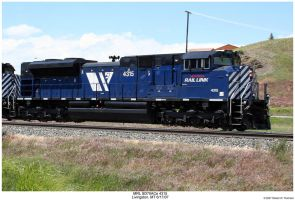 MRL SD70ACe 4315 by hunter1828