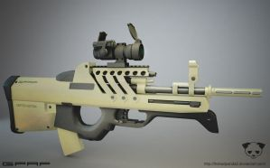Modified FN2000 2 by TheBadPanda2