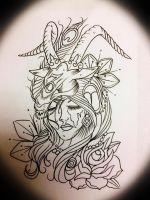 Lady Capricorn by underlineage-designs