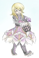Elize and Teepo by theamazingwrabbit