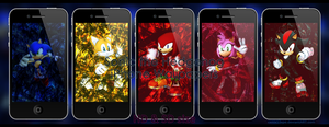 Sonic iPhone Wallpapers by CenixNova