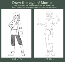 Before-After meme by Psyoren