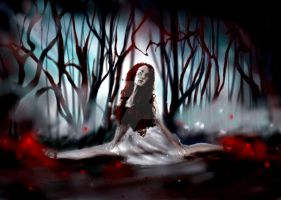 The Girl In The Red Shoes by doomed-echo