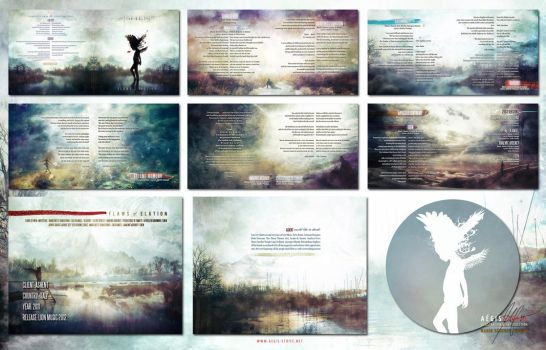 Ashent: Flaws of Elation CD Packaging by Aegis-Illustration