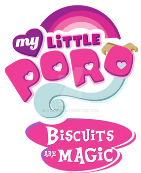 My Little Poro - Biscuits are Magic (logo) by sumashira