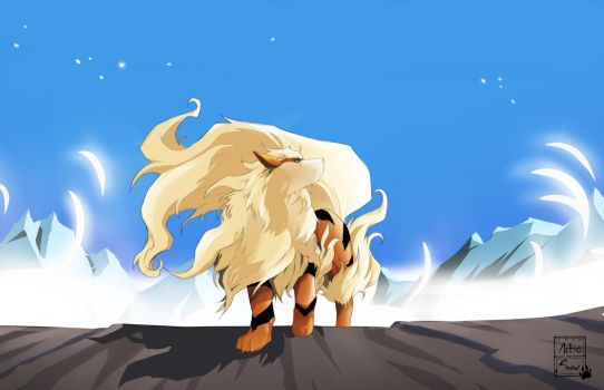 Arcanine by Artic-Snow