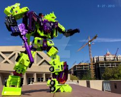 Devastator Attacking! by Burnoutadventures