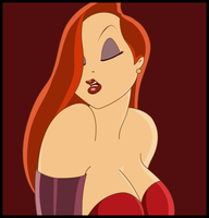 Jessica Rabbit by TheCharm3
