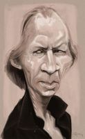 David Carradine by Parpa