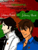 Johnny Ghost and Johnny Toast by SylarGrimm