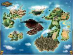 Digimon World Map -- Commission by stratomunchkin