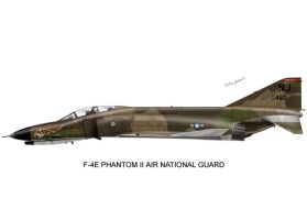 F-4 Air National Guard Print01 by peter-pan03