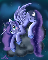 Princess Luna by BlueSketcher