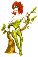 poison ivy by brainleakage