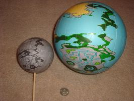 Final Fantasy 1 Globe by IkariyaManga