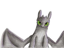 HtTyD - Toothless by IcelectricSpyro