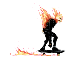 Ghost Rider Reboot Design by MatthewPetz